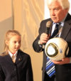 Никопольская школьница оказалась лучшим знатоком истории Чемпионата Европы по футболу