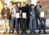 Торжественное завершение чемпионата города по мини-футболу 2012