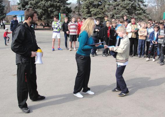 Никополь отметил День Здоровья легкоатлетическим забегом