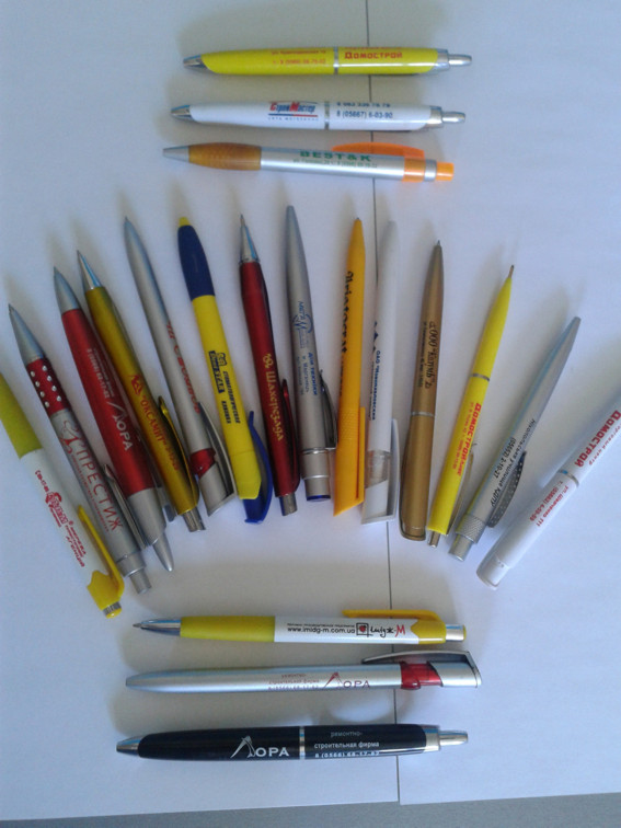 Сувенирка: ручки, зажигалки и пакеты с Вашим логотипом