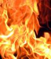 Попытка поджога (архивное видео)