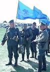 """""""Нацисти"""" марширували під прапорами Партії регіонів. Фото"""