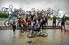 Дождь велосипедистам не помеха!