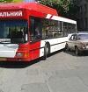 """""""Социальный"""" автобус в ДТП (фото)"""