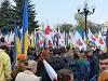 Святкова хода з нагоди Дня Конституції України (вiдео)