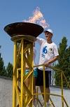 Никополь принял Всеукраинскую Олимпийскую эстафету