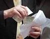 Инспектор штаба ЧС никопольского предприятия попался на взятке в 13,95 тыс грн