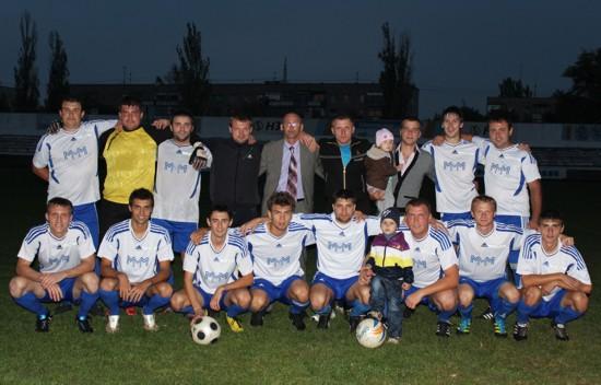 «Спроба» чемпион Никополя 2012 по футболу