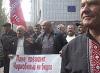 Забастовка чернобыльцев в Никополе (видео)
