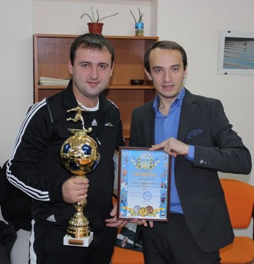 Лучшие футболисты получили свои награды