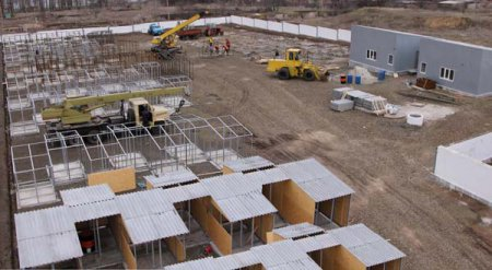 Строительство приюта для собак подходит к концу