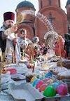 Расписание Богослужений, освящений пасок и яиц, а также мероприятий ко дню Святой Пасхи в храмах Никополя