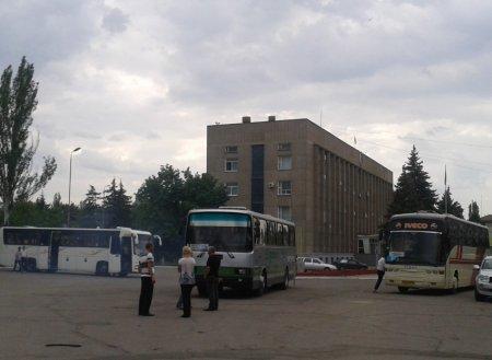 Лидеры Никопольской оппозиции на допросах в следственном отделе, а регионалы готовятся в путь