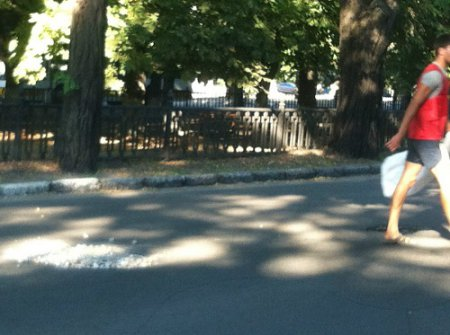 Когда Никопольский мэр отдыхает «Удар» взялась за лопаты