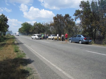 ДТП с участием 4 автомобилей (фото)