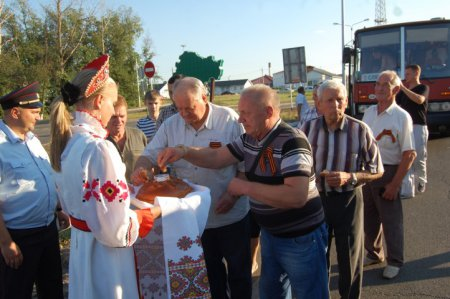 45 никопольчан приняли участие в торжествах на Курской дуге