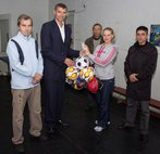 В Никополе побывал призер Олимпийских игр