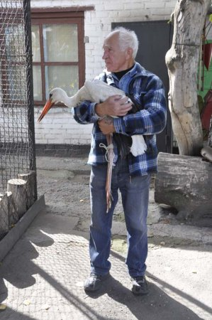 Раненого Жору приютили в СК «Электрометаллург»