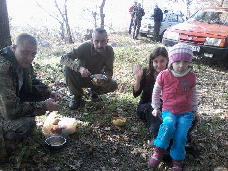 У День козацтва зелений гай від Війська Запорозького Низово