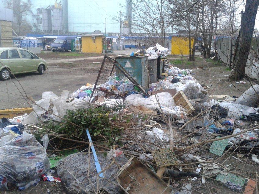 Общежитие Черноморского флота в Севастополе утопает в мусоре - Цензор.НЕТ 3310