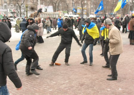 Никопольчане на защите прав и свобод граждан. Днепропетровск-АнтиМайдан-Фото