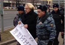 На антивоенных акциях в Москве и Петербурге задержаны сотни людей