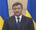 Заявление отстраненного от власти президента Украины